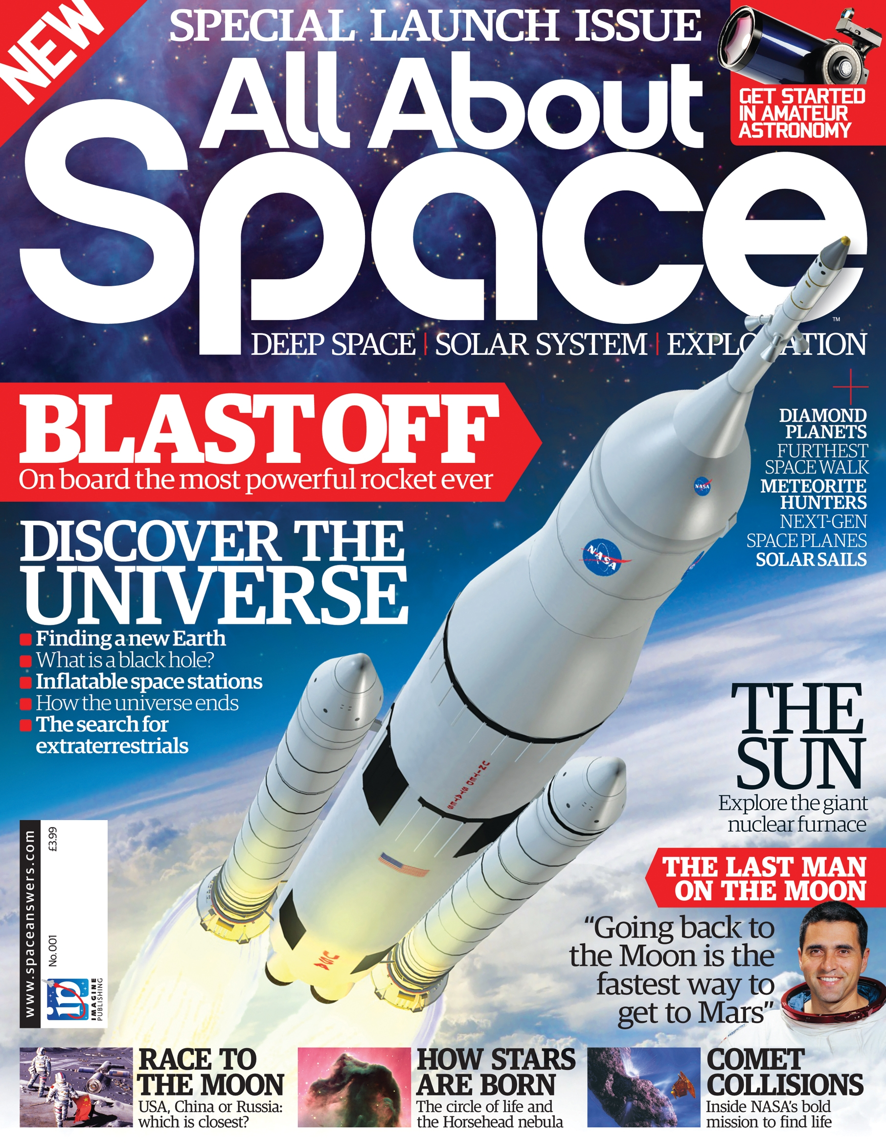 All About Space Magazine On Sale Now!