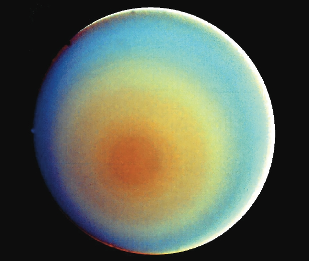 Why is Uranus colder than Neptune?