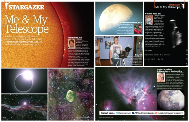 Send us your photos and star in All About Space magazine