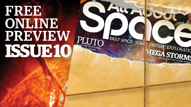 Discover the wonders of space: Free preview of All About Space issue 10