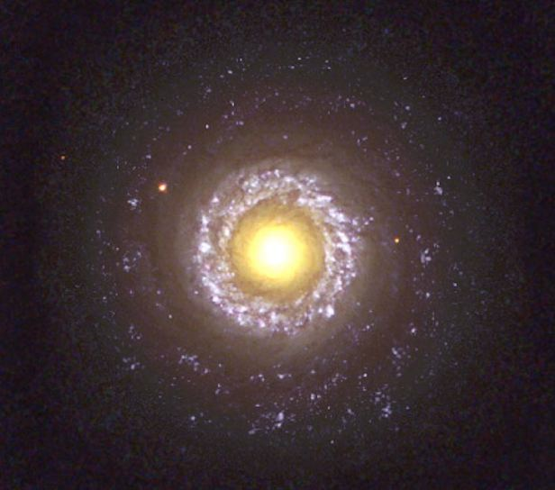 NGC 7742 is a classic example of a type II Seyfert galaxy with its bright core and tightly wound spiral arms