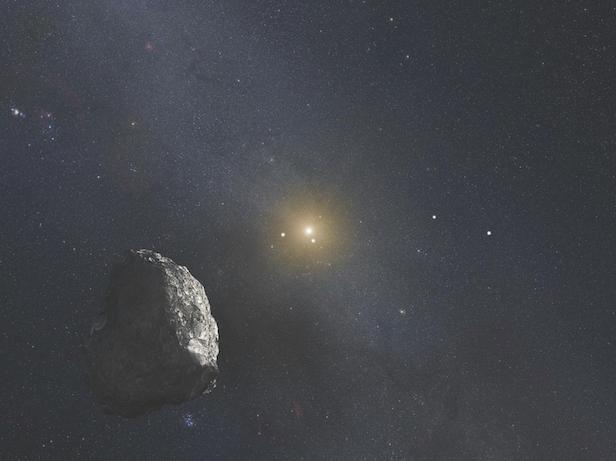 The true edge of the Solar System stretches beyond the Kuiper belt. Image Credit: NASA