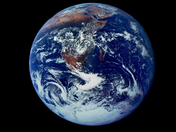 Earth is the only planet we know of that harbours life. Image Credit: NASA