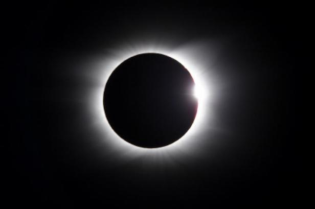 At totality, day becomes night for a few minutes. Image Credit: timeanddate.com