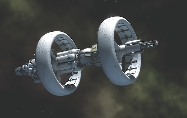 NASA hasn't designed a warp drive and is not looking to in the near future. Image Credit: Adrian Mann
