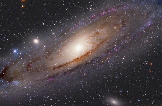 Our closest spiral, the Andromeda Galaxy. Image Credit: NASA