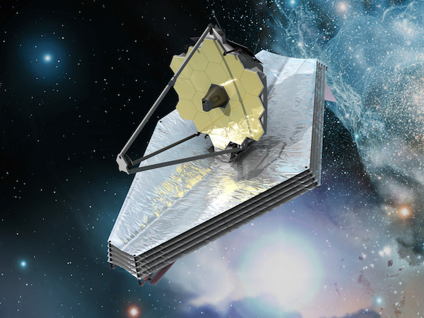 The James Webb Space Telescope (JWST) will launch in 2018. Image Credit: NASA