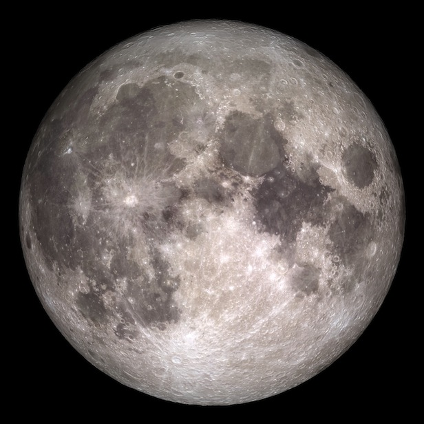 Billions of years ago, we may have seen a different hemisphere of the Moon to the one we see today. Image Credit: NASA