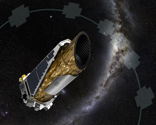 NASA's Kepler Space Telescope discovered KIC last year. Image Credit: NASA