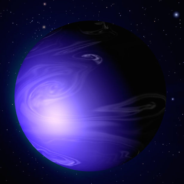 Astronomers suspect that the most common 'outer' exoplanets are similar to Neptune. Image Credit: NASA