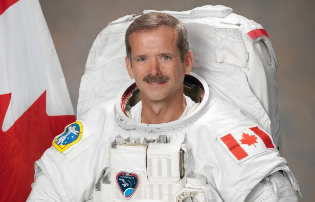 Chris Hadfield is Canada's most decorated astronaut with over 4,000 hours logged in space (image credit NASA)