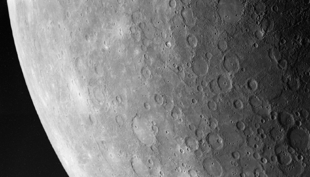 Image of the surface of Mercury