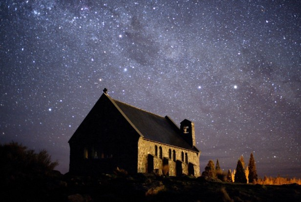 The Aoraki Mackenzie Dark Sky Reserve in New Zealand has been certified as a location of exceptionally dark skies. Image Credit: IDA