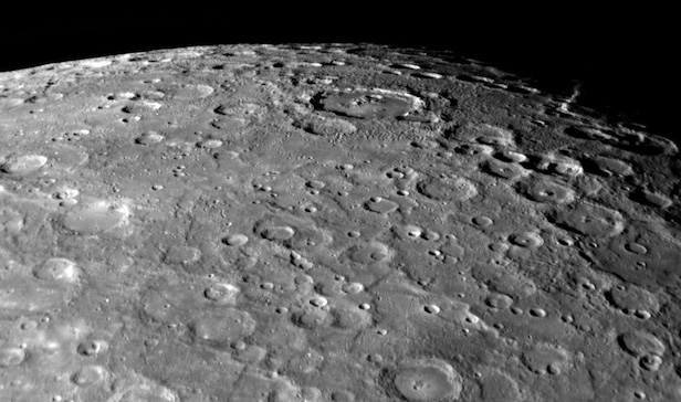 Mercury has an incredibly thin atmosphere