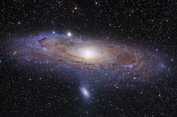 The Andromeda galaxy, also known as M31. Image Credit: NASA