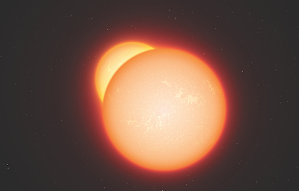 More than 50 per cent of stars are in binary systems. Image Credit: ESO