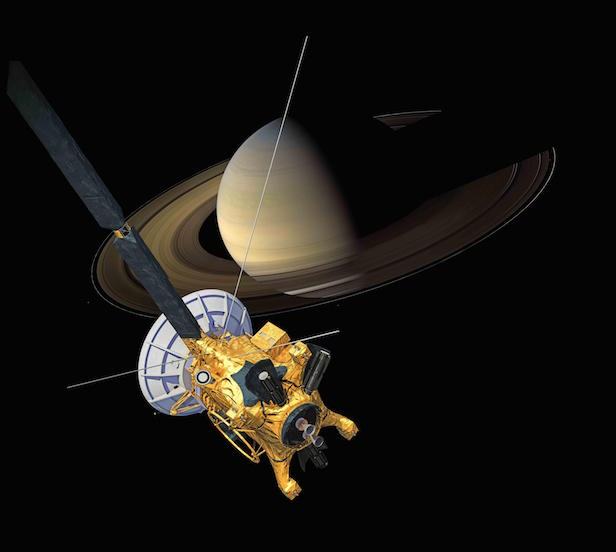 NASA's Cassini mission will end on 15 September 2017. Image Credit: NASA